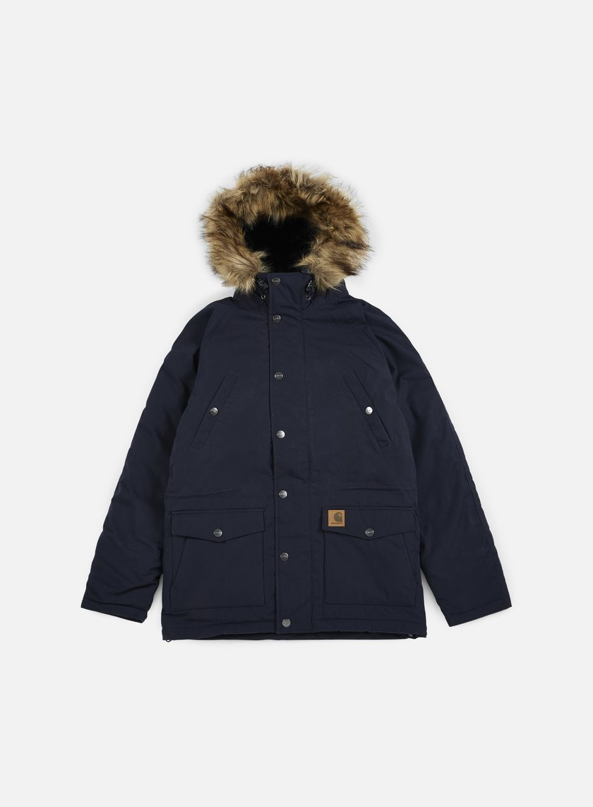 Carhartt - Trapper Parka Jacket, Navy/Black
