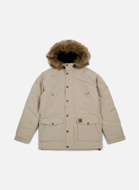 giacche carhartt trapper parka jacket wall black