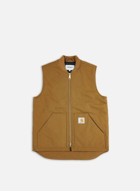 giacche carhartt vest hamilton brown rigid
