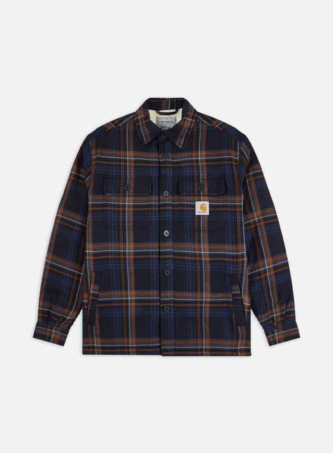 Outlet e Saldi Giacche Intermedie Carhartt WIP Aiden Shirt Jacket