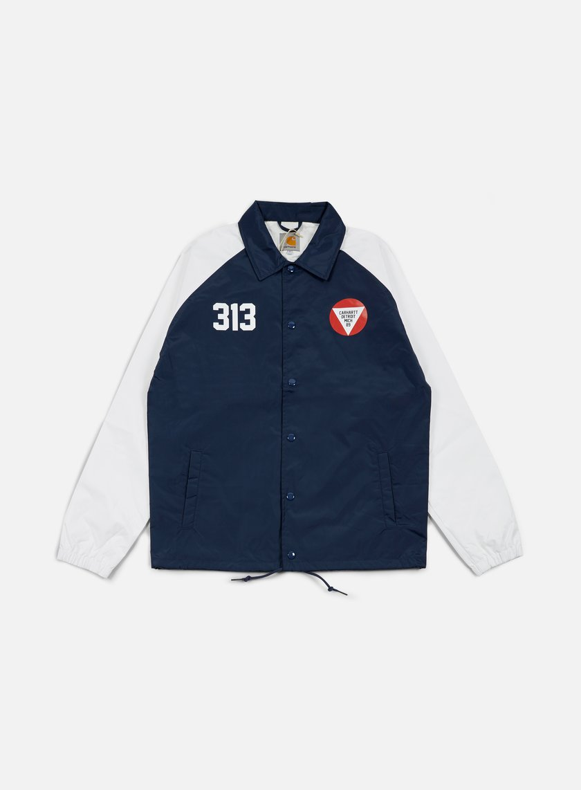 Carhartt - York Jacket, Blue/White