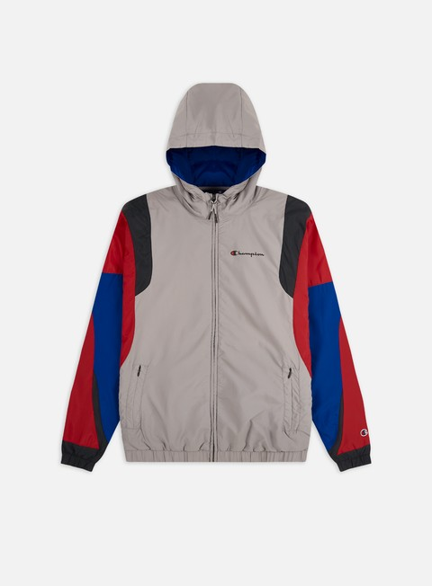 Windbreaker Champion Full Zip Hooded Jacket