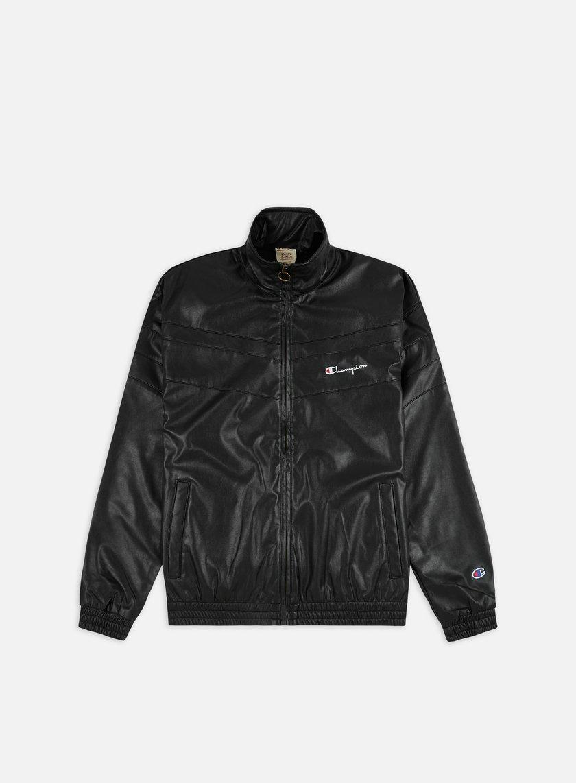 Champion Poly Full Zip Track Jacket