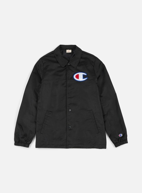 giacche champion reverse weave coach jacket black