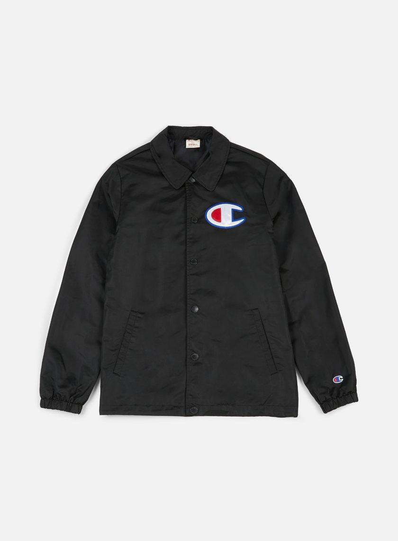 Champion - Reverse Weave Coach Jacket, Black