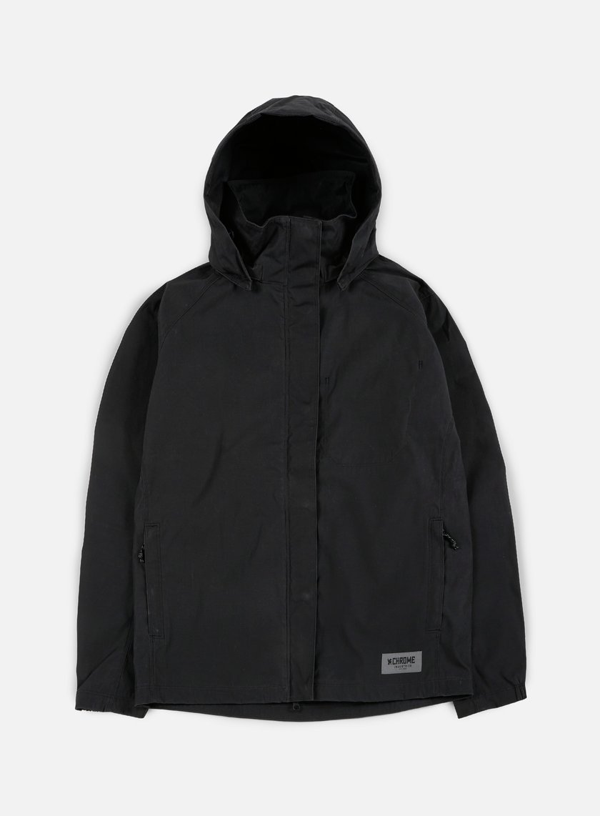 Chrome - Cobra Windbreaker, Black