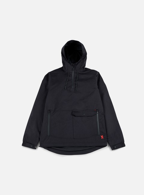 giacche chrome skyline windcheater anorak black