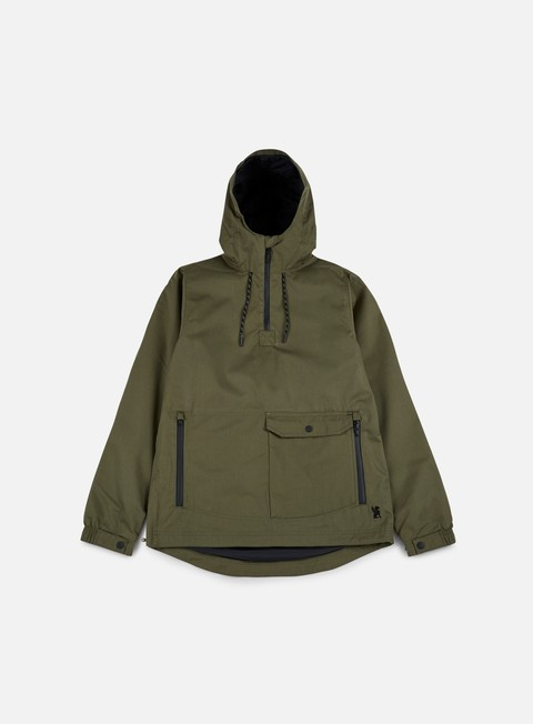 giacche chrome skyline windcheater anorak military olive
