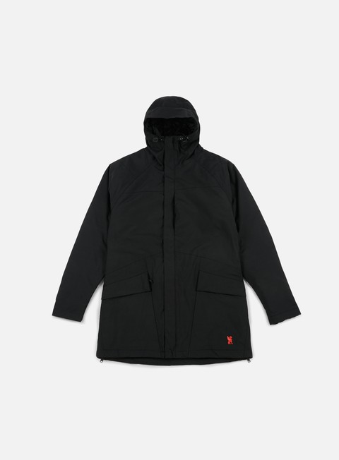giacche chrome storm insulated parka jacket black