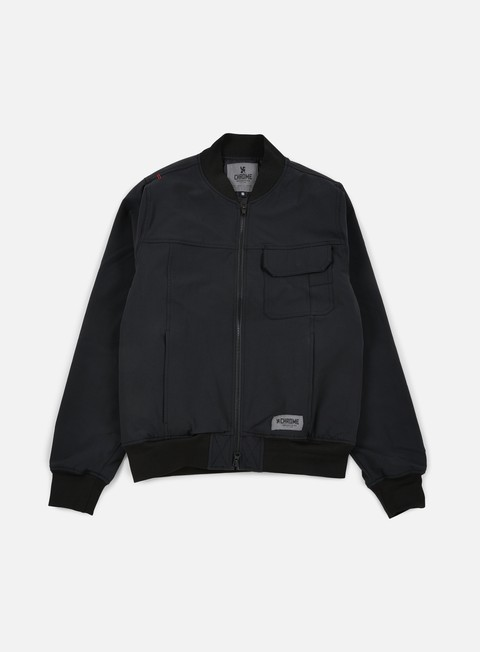 giacche chrome utility bomber jacket black