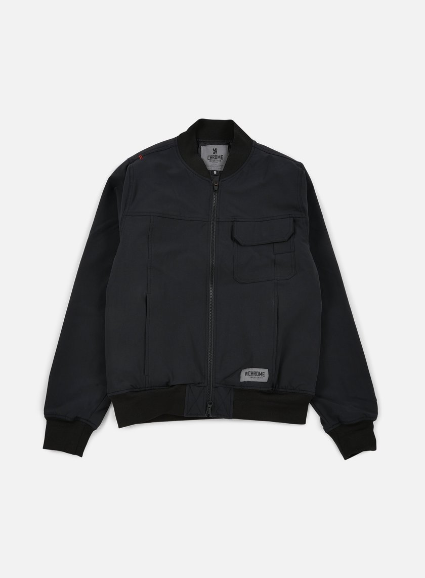 Chrome - Utility Bomber Jacket, Black