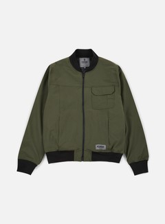 Chrome - Utility Bomber Jacket, Olive
