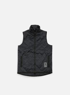 Chrome - Warm Vest, Black/Black 1
