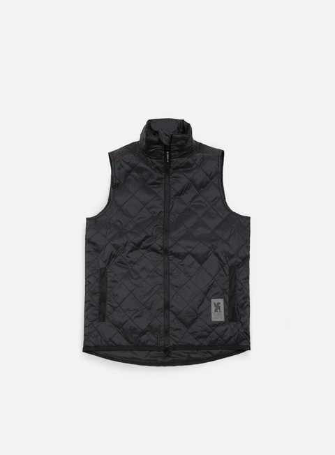 giacche chrome warm vest black black