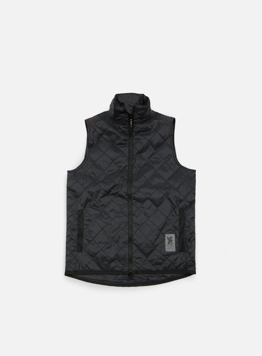 Chrome - Warm Vest, Black/Black