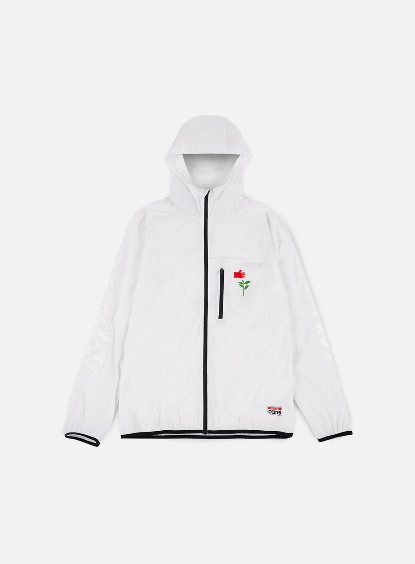 Converse - Cons Chocolate Packable Windbreaker, White