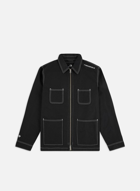Converse Utility Zip Front Shirt Jacket