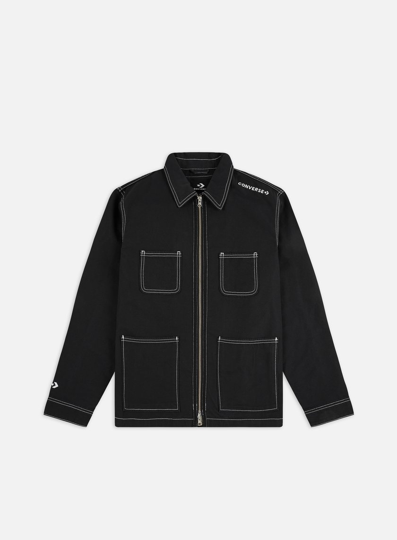 Converse Utility Zip Front Shirt Jacket