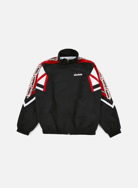 Zip Sweatshirts Diadora 90s Ita Competitive Jacket