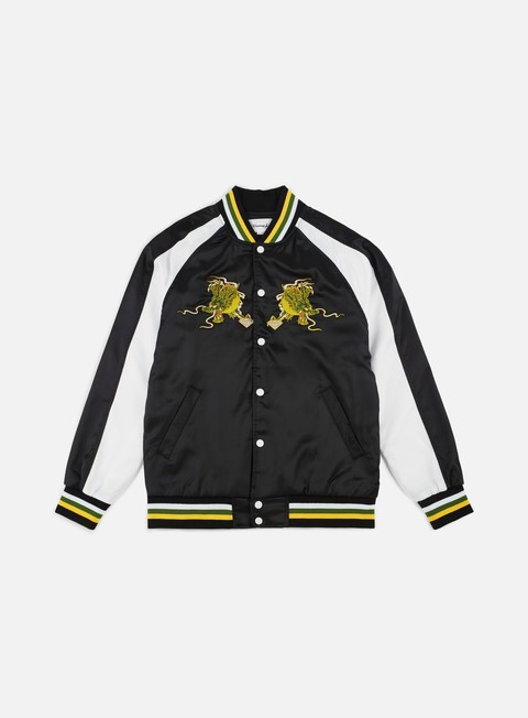 giacche diamond supply aoki souvenir jacket black
