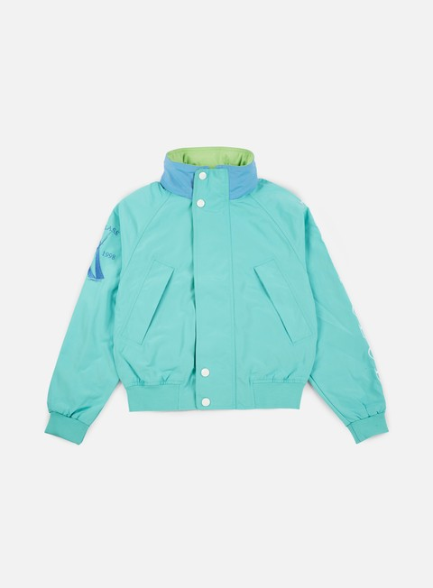 giacche diamond supply challenger jacket turquoise
