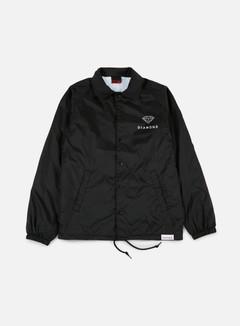 Diamond Supply - Futura Sign Coach Jacket, Black 1