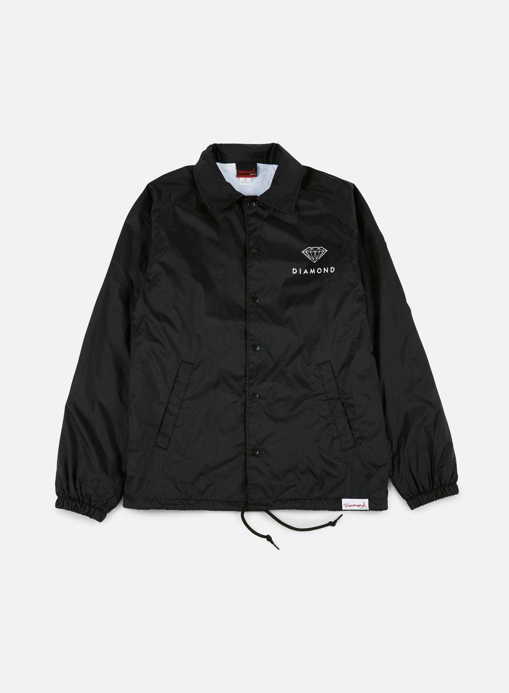 Diamond Supply - Futura Sign Coach Jacket, Black