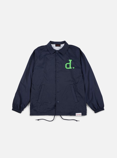 giacche diamond supply un polo coach jacket navy