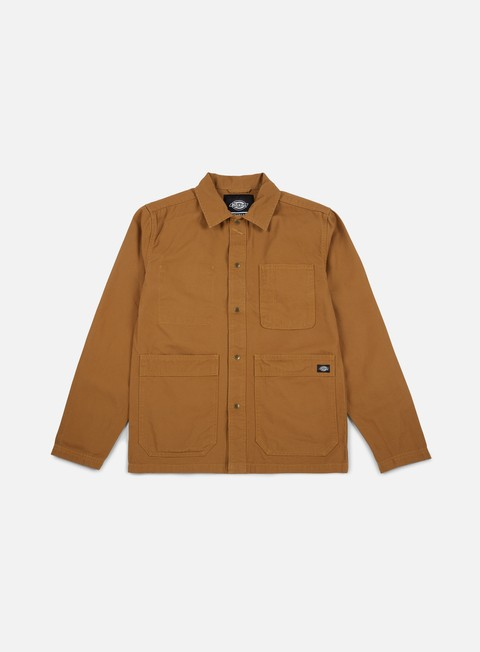 giacche dickies brookview jacket brown duck