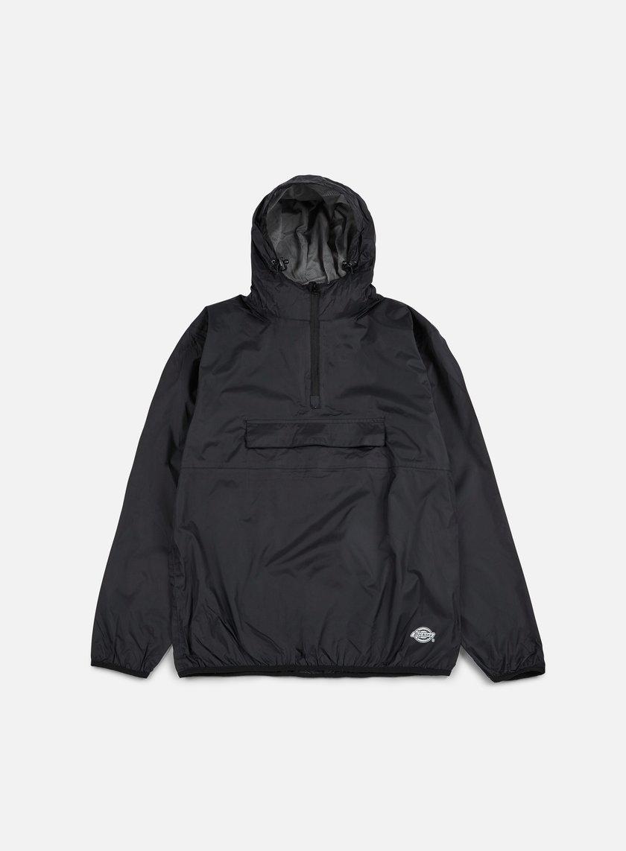 Dickies - Centre Ridge Pack Away Jacket, Black