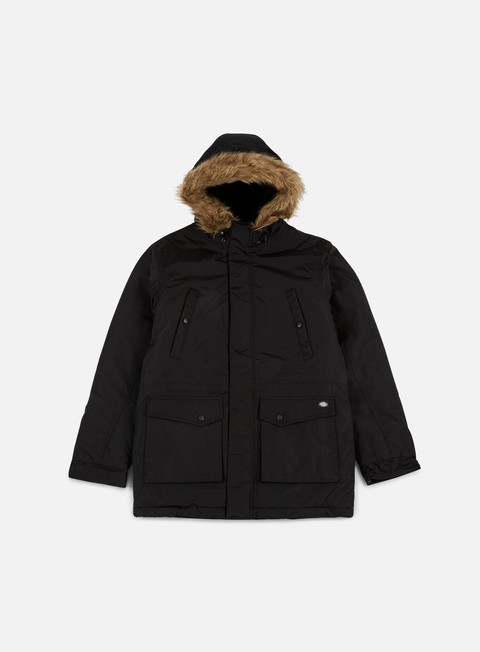 giacche dickies curtis parka jacket black