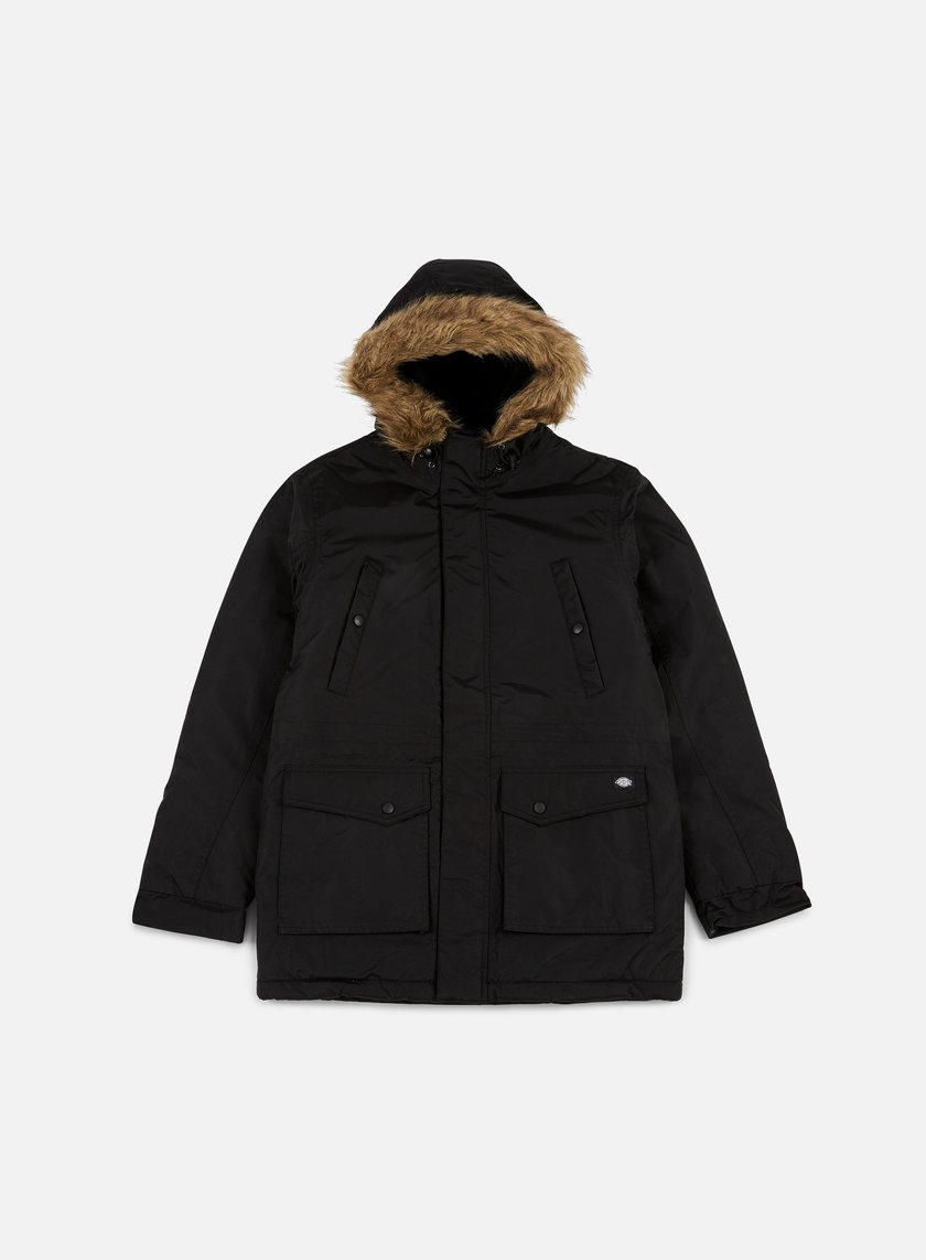 Dickies - Curtis Parka Jacket, Black