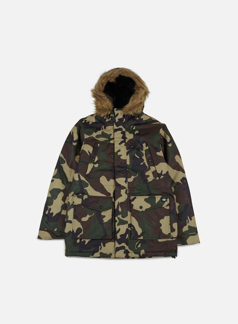 giacche dickies curtis parka jacket camouflage
