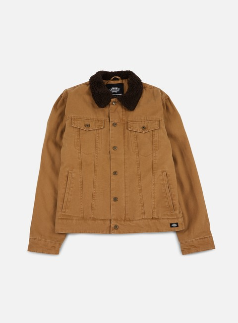 giacche dickies glenside jacket brown duck