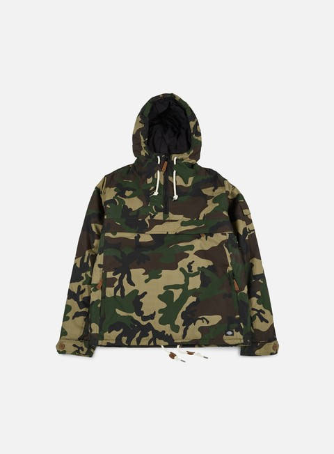 giacche dickies milford hooded jacket camouflage