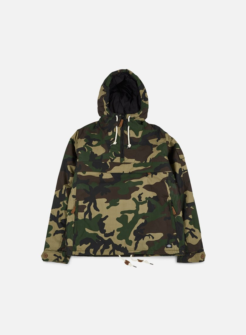 Dickies - Milford Hooded Jacket, Camouflage