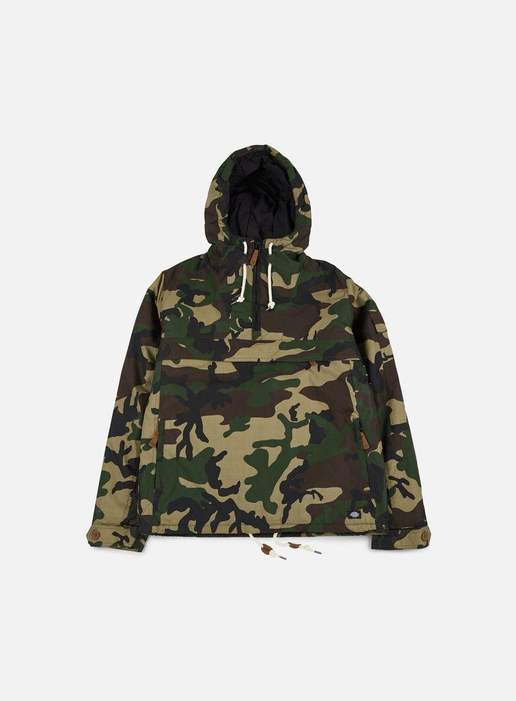 Dickies - Milford Hooded Jacket, Camouflage