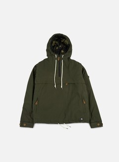 Dickies - Milford Hooded Jacket, Olive Green