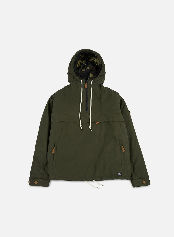 Dickies - Milford Hooded Jacket, Olive Green