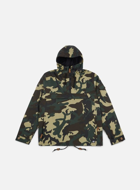 giacche dickies pollard hooded jacket camouflage