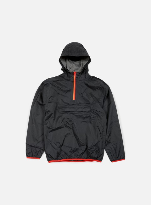 giacche dickies saint cloud pack away jacket black