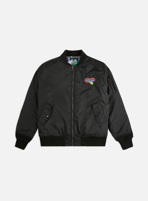 Bomber Doomsday Acid Reversible Bomber Jacket