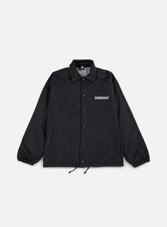 Doomsday - Death Is Certain Coach Jacket, Black 1