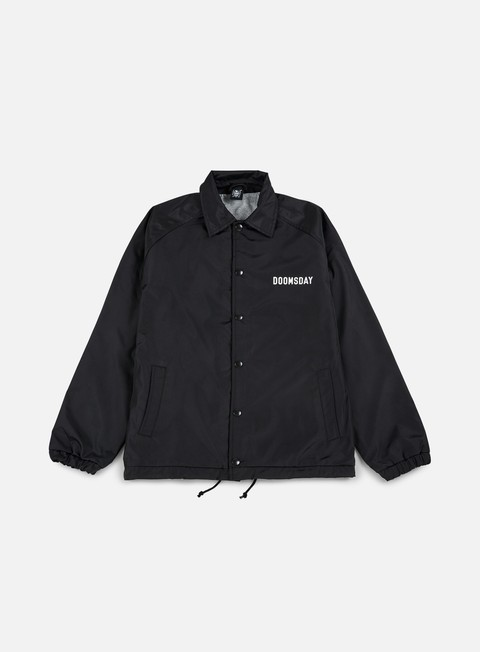 giacche doomsday death is certain coach jacket black