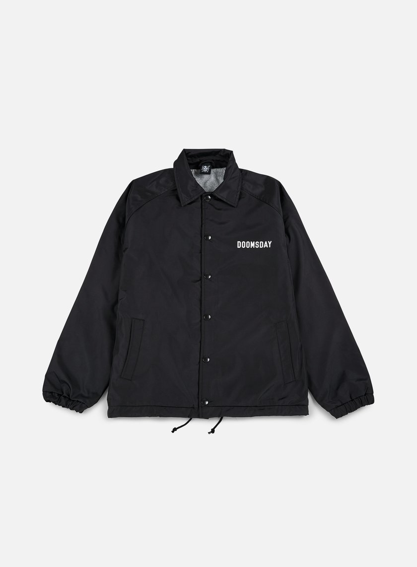 Doomsday - Death Is Certain Coach Jacket, Black