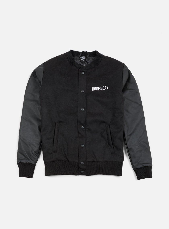 Doomsday Death Is Certain Varsity Jacket