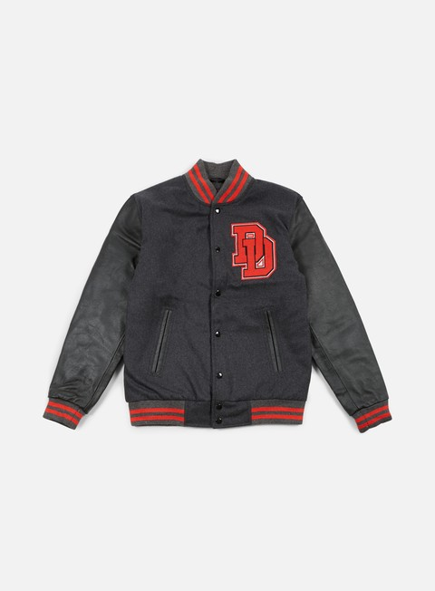 giacche doomsday demon varsity jacket black
