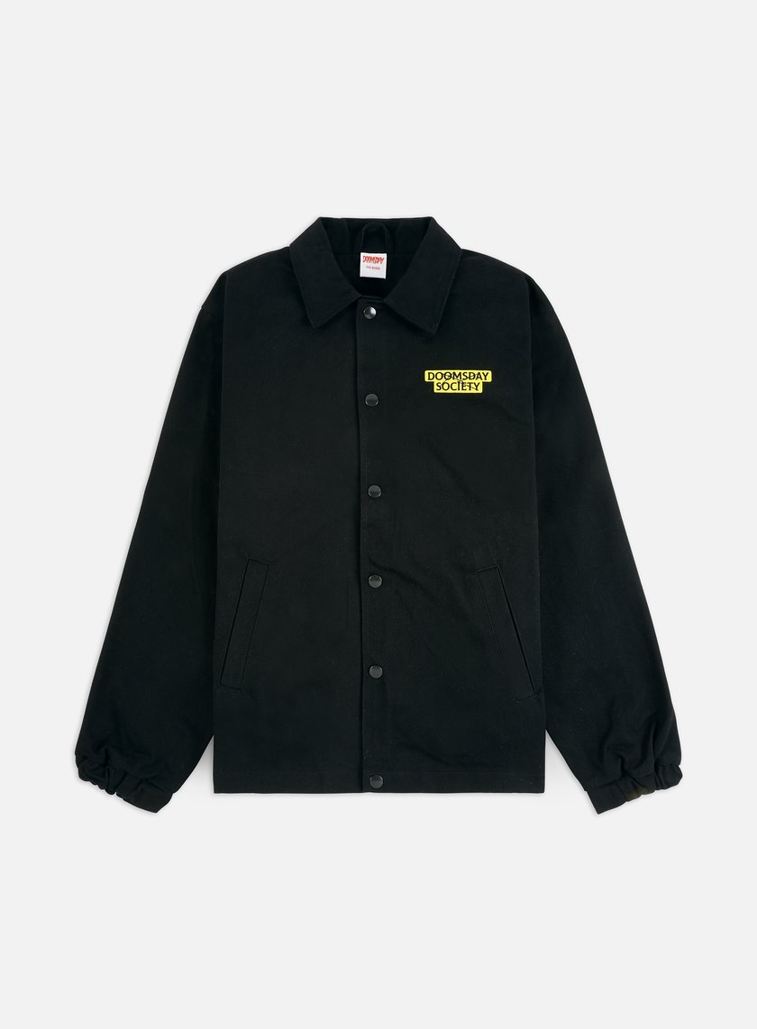 Doomsday Drag You Under Canvas Coach Jacket