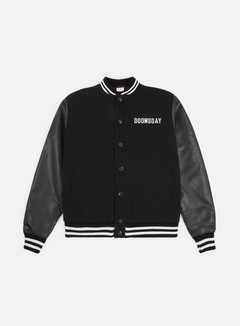 Doomsday - Free Mind Varsity Jacket, Black 1