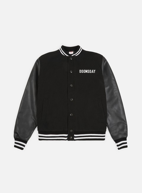 giacche doomsday free mind varsity jacket black
